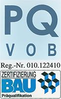 OSB Berlin - Wir sind zertifiziert nach PQ VOB